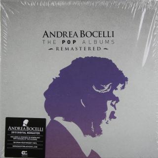 Andrea Bocelli The Complete Pop Albums  Black