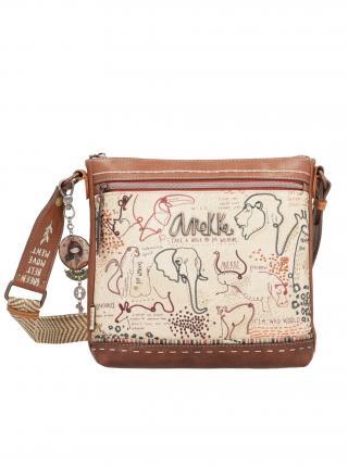 Anekke béžová kabelka Safari Fusion dámské