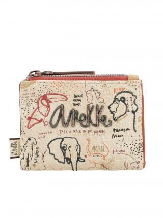 Anekke béžová malá peněženka Safari Fuison dámské