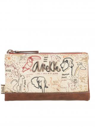 Anekke béžová peněženka Kenya dámské