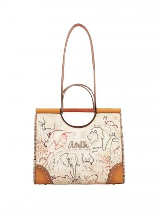 Anekke béžové kabelka Kenya dámské béžová