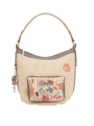 Anekke proutěná kabelka Kenya dámské béžová