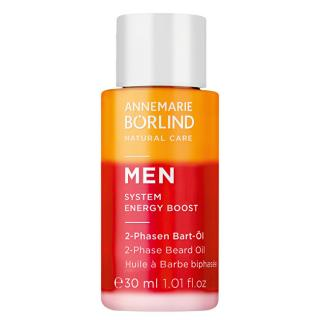 ANNEMARIE BORLIND 2-fázový olej na bradu pro muže MEN System Energy Boost  30 ml pánské