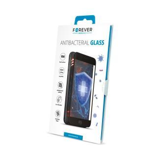 Antibakteriální tvrzené sklo Forever pro Apple iPhone XS Max/11 Pro Max, černá