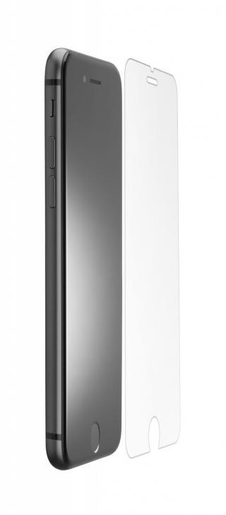 Antimikrobiální ochranné tvrzené sklo Cellularline Antibiom pro Apple iPhone 6/7/8/SE 2020, černá