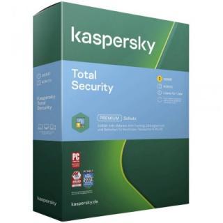 Antivirové programy antivirus kaspersky total security 1 x 1 rok