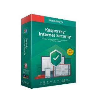 Antivirový program kaspersky internet security 1x 1 year base box