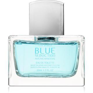 Antonio Banderas Blue Seduction for Her toaletní voda pro ženy 50 ml dámské 50 ml