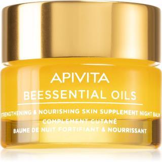 Apivita Beessential Oils noční pleťový balzám pro výživu a hydrataci 15 ml dámské 15 ml