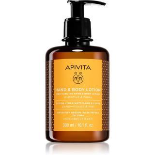 Apivita Hand Care Grapefruit & Honey hydratační krém na ruce a tělo 300 ml dámské 300 ml