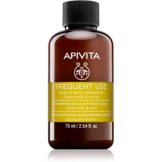 Apivita Holistic Hair Care Chamomile & Honey šampon pro každodenní mytí vlasů 75 ml dámské 75 ml