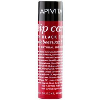 Apivita Lip Care Black Currant hydratační balzám na rty 4,4 g dámské 4,4 g
