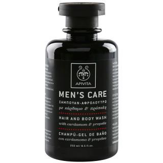Apivita Mens Care Cardamom & Propolis šampon a sprchový gel 2 v 1 250 ml pánské 250 ml