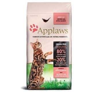 Applaws granule Cat Adult kuře s lososem 2 kg