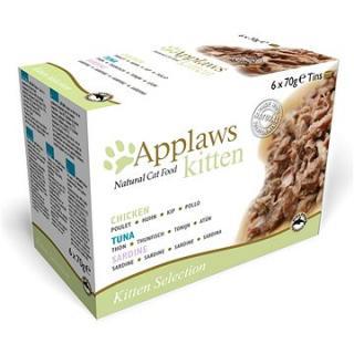 Applaws konzerva Kitten multipack 6 × 70 g