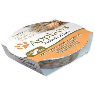 Applaws miska Cat Pot kuřecí prsa a kachna 60 g