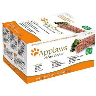 Applaws paštika Cat multipack fresh 7 × 100 g