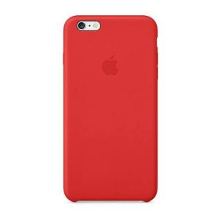 Apple Leather Cover zadní kryt MGQY2ZM/A Apple iPhone 6/6s Plus red