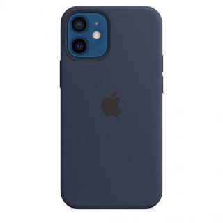 Apple silikonový kryt s MagSafe Apple iPhone 12 mini deep navy