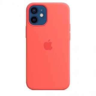 Apple silikonový kryt s MagSafe Apple iPhone 12 mini pink citrus