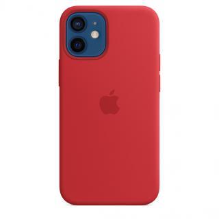 Apple silikonový kryt s MagSafe Apple iPhone 12 mini product red