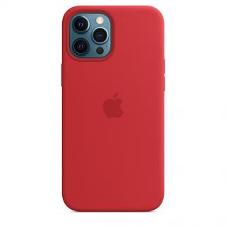 Apple silikonový kryt s MagSafe Apple iPhone 12 Pro Max product red