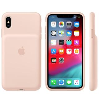 Apple Smart Battery kryt MVQQ2ZM/A pro Apple iPhone XS Max pink sand