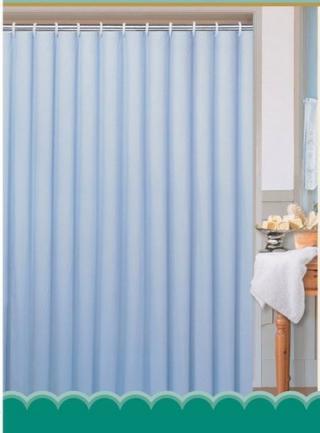 Aqualine polyester jednobarevný modrý 0201103 M 180 x 180 cm