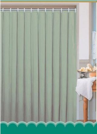 Aqualine polyester jednobarevný zelený 0201103 Z 180 x 180 cm