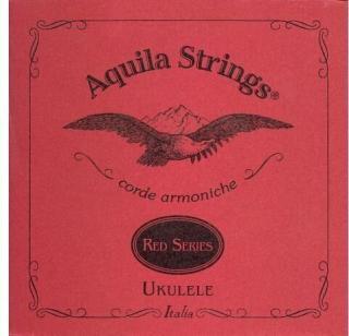 Aquila 88U Red Series Ukulele Tenor String Set Low-G Tuning