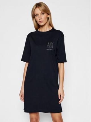 Armani Exchange Každodenní šaty 8NYADX YJG3Z 8510 Tmavomodrá Regular Fit dámské XL