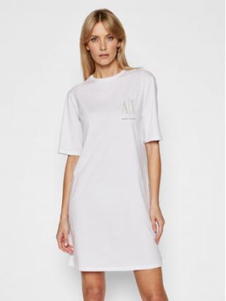 Armani Exchange Každodenní šaty 8NYADX YJG3Z 9130 Bílá Regular Fit dámské XL