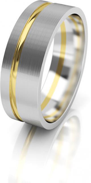 Art Diamond Dámský snubní prsten ze zlata AUG139 50 mm dámské