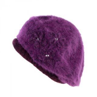 Art Of Polo Womans Beret cz13345 Purple dámské Violet One size