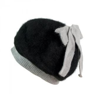 Art Of Polo Womans Beret Cz2300 Black/Light Grey dámské Black-Light Grey One size