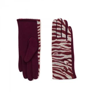 Art Of Polo Womans Gloves rk16379 Dark dámské Red One size