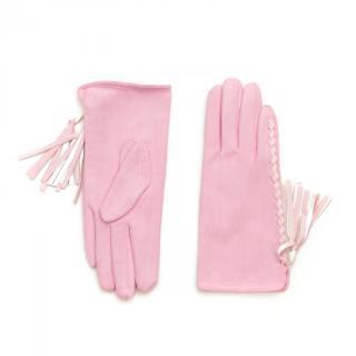 Art Of Polo Womans Gloves rk16501 dámské Pink One size