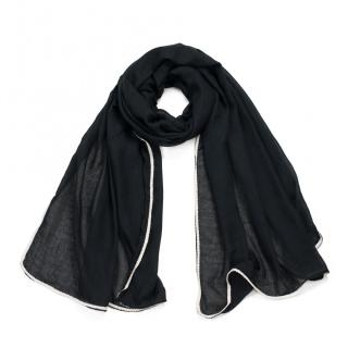 Art Of Polo Womans Scarf sz17385 dámské Black One size