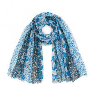Art Of Polo Womans Scarf szq012 dámské Blue One size