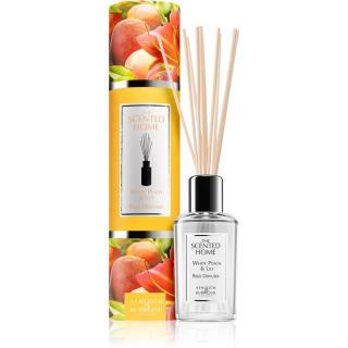 Ashleigh & Burwood London The Scented Home Peach & Lilly aroma difuzér s náplní 150 ml 150 ml