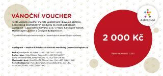 Asklepion Vánoční voucher 2000Kč