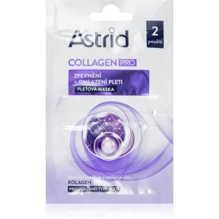 Astrid Collagen PRO zpevňující pleťová maska s omlazujícím účinkem 2x8 ml dámské 2x8 ml
