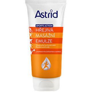 Astrid Hřejivá masážní emulze Sport Action 200 ml