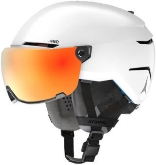 Atomic Savor Amid Visor HD White L 20/21 pánské Orange L