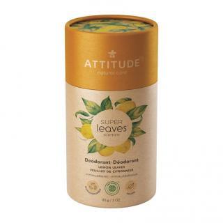 ATTITUDE Přírodní tuhý deodorant Super leaves - citrusové listy 85 g oranžová