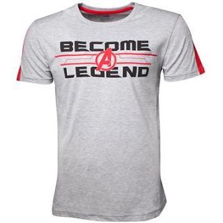 Avengers Become A Legend - tričko XL
