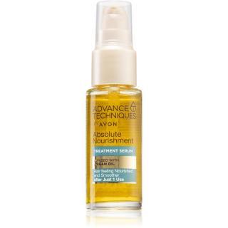 Avon Advance Techniques Absolute Nourishment sérum na vlasy s arganovým olejem 30 ml dámské 30 ml