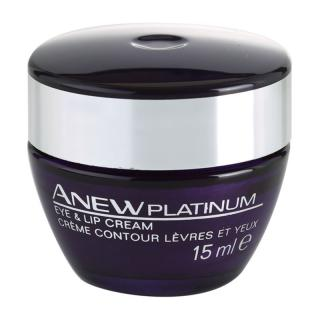 Avon Anew Platinum krém na oční okolí a rty 15 ml dámské 15 ml