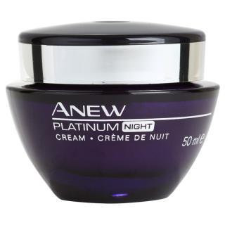 Avon Anew Platinum noční krém proti hlubokým vráskám 50 ml dámské 50 ml