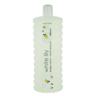 Avon Bubble Bath pěna do koupele velké balení White Lily 1000 ml dámské 1000 ml